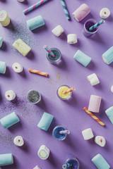 Glitter and marshmallows