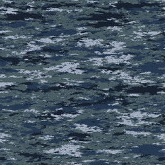 Seamless pattern. Abstract military or police camouflage background. Made from geometric rectangle shapes.