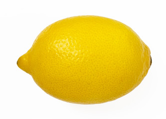 Lemon isolated on white background. with clipping path.