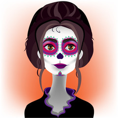 The day of the Dead. Katrina 4