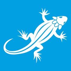 Lizard icon white
