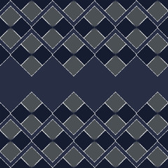 Seamless pattern of squares. Color drawing for fabric, knitwear