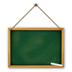 Close up of a black dirty chalkboard, Vector blackboard, blackboard school with chalk. ARDOISE D'ÉCOLE QUADRILLÉE AVEC CRAIE