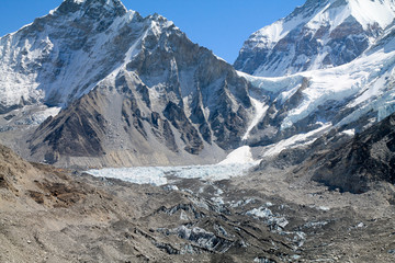 Shot from the Everest Basecamp trail in Nepal