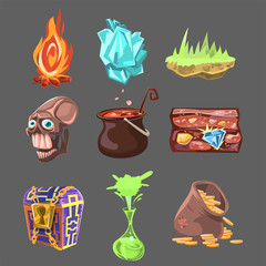 Elements for Game. Vector Illustration Collection