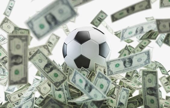 Calcio mercato, soldi per calciatori