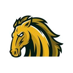Horse Vector Logo Illustration