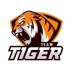 Tiger Vector Logo Illustration