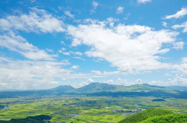 Wall Mural - 阿蘇 大観峰からの眺望