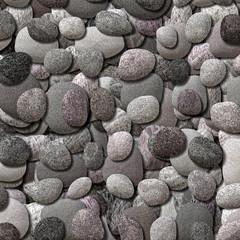 3d  illustration - kieselsteine