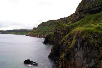 Landschaft um Carrick-a-Rede - Rope Bridge -  Nordirland