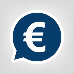Sprechblase Euro