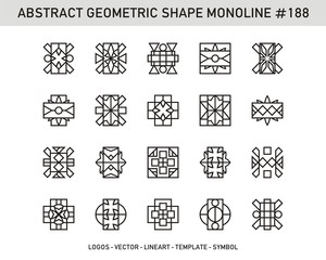 Geometric Abstract Element Shape