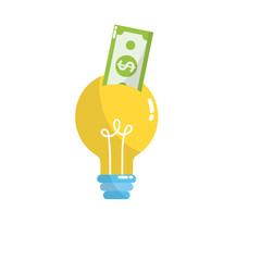 bulb idea with bill cash money