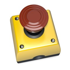 Emergency stop switch button