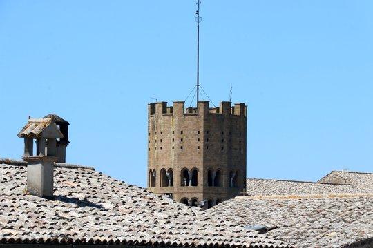 Blitzableiter auf dem Turm