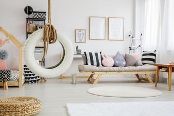 Sweet playroom of child