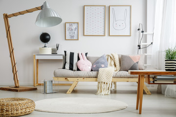 Fun living room for child