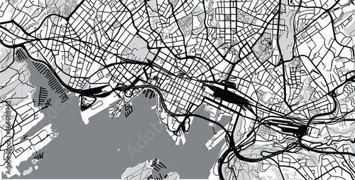 Urban city map of oslo norway stock image and royalty free urban city map of oslo norway sciox Gallery