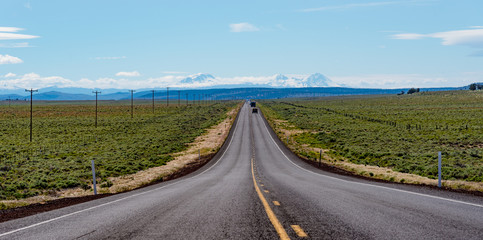 US Route 20 east of Bend, Oregon