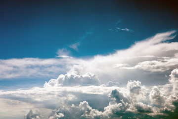 Storm clouds before rain