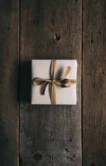 Rustic: Single Gift Wrapped With Jute Ribbon