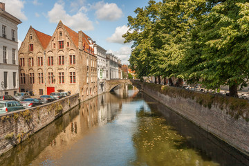 Capture done in Brugges Streets and Water Channels, Belgium