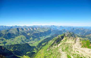 Saentis Mountain landscape