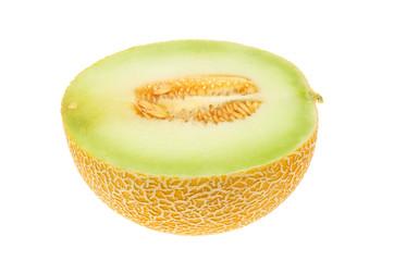 Galia melon half