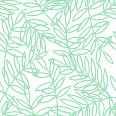 kbecca_vector_outline_leaves_pattern_seamless_tile