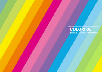 Colorful background banner