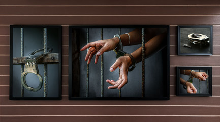picture frame of prisoner