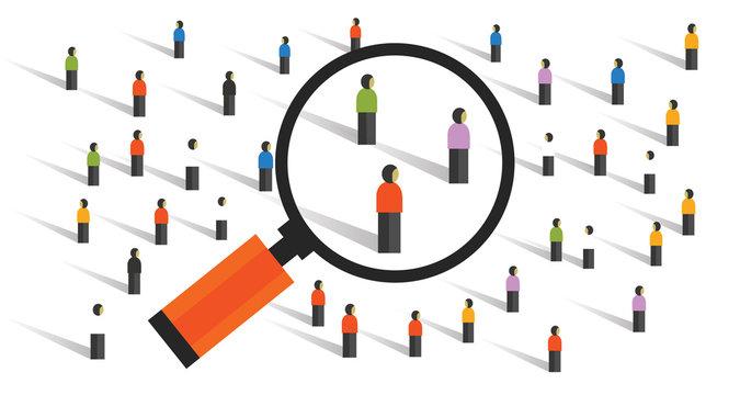 crowd behaviors measuring social sampling statistics experiment population research of society