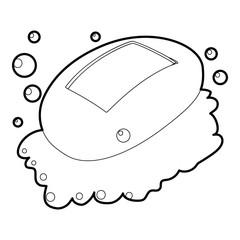 Soap icon outline