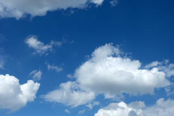 Blue Sky with Cloud Background.