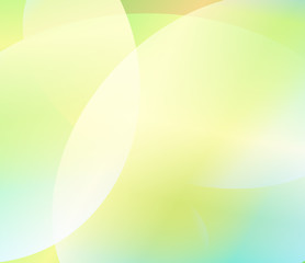 Turquoise green abstract background. Fresh spring vector background