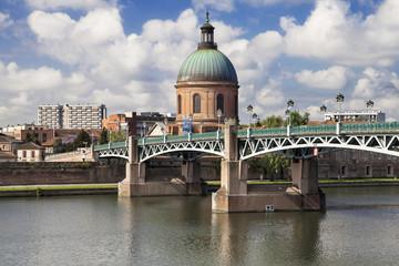 Pont Saint-Pierre and Dome of La Grave