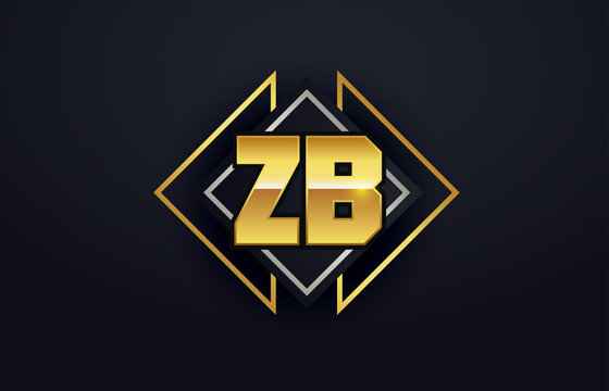 ZB Initial Logo for your startup venture