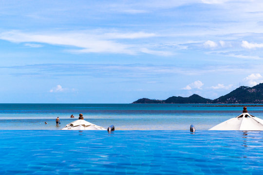 Chaweng Beach Thailand : チャウエンビーチ サムイ 島 海岸