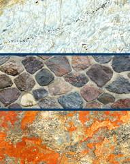 full frame stone background