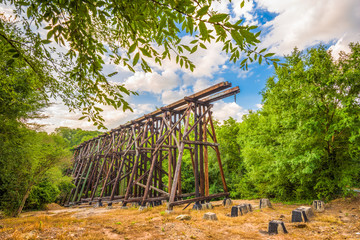 Athens Georgia Train Trestle