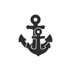 Anchor vector icon.
