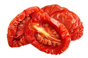 Sundried tomato halves, paths