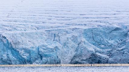 Turquoise Glacier, Spitzbergen, Svalbard