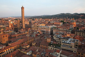 Elevated View Of A City, Piedmont, Italy