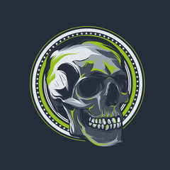 Skull T shirt Graphic Design