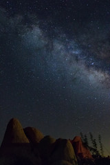 Milky Way Boulders Red and Brown