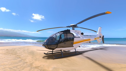 Wall Murals Helicopter ヘリコプター