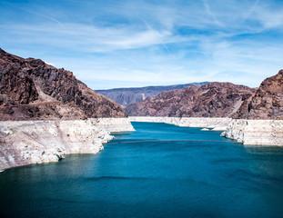 Upstream of Hoover Dam