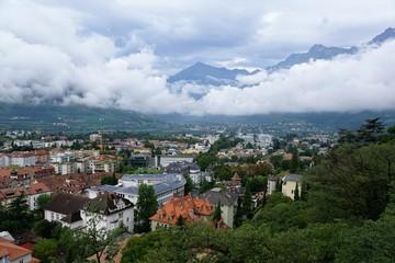 Meran in Italien in Südtirol